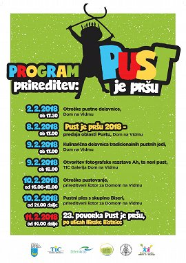 Program pust je prsu 2018